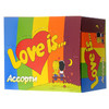 Коробка жвачки Love is